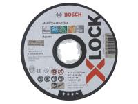 Bosch BSH619269 X-LOCK Multi Material Cutting Disc 125 x 1 x 22.23mm   Toolden