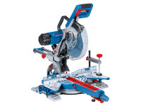 Bosch BSHGCM35025L GCM 350-254 Double Bevel Sliding Mitre Saw 254mm 1800W 110V | Toolden