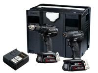 Panasonic PANC225PN EYC225PN2G Twin Pack 18V 2 x 3.0Ah Li-Ion | Toolden