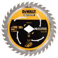 Dewalt DT40271 XR Flexvolt Extreme Runtime Circular Saw Blade 190mm x 36T from Toolden