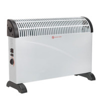 Sealey CD2005T Convector Heater 2000W 3 Heat Settings Thermostat Turbo Fan