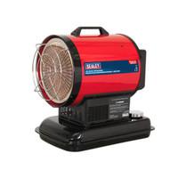 Sealey IR20 Infrared Paraffin/Kerosene/Diesel Heater 20.5kW 230V