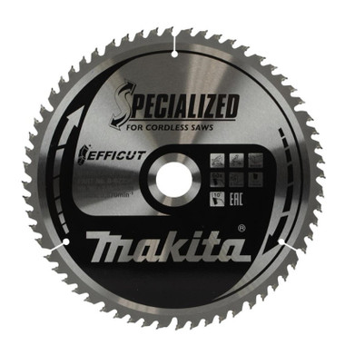 Makita B-64185 Efficut Cordless Circular Saw Blade 190mm x 30mm x 24T