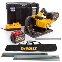 DeWalt XR Flexvolt 54V DCS520T2 Plunge Saw Complete Kit