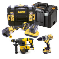 DeWalt 54/18V XR Flexvolt Triple Kit