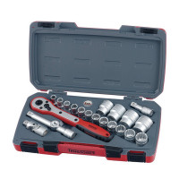 Teng T1221 21 piece 1/2In Drive Metric Socket Set