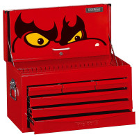 Teng Tools 6 Drawer 8 Series SV Top Box - TC806SV  | Toolden