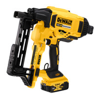 Dewalt DCFS950P2 18V XR Brushless Fencing Stapler 2 x 5.0Ah Batteries From Toolden