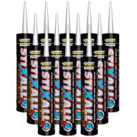 Everbuild Stixall Extreme Power Cartridge Crystal Clear 290ml (box of 12 Tubes)