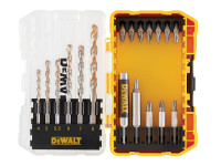 Dewalt DT70712 19 Piece Extreme Masonry Drill Drive Set From Toolden