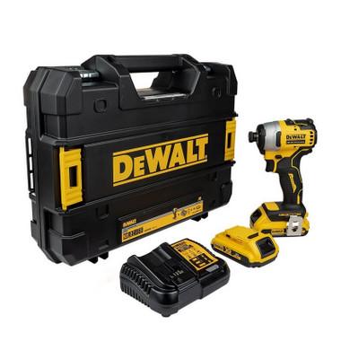 DeWalt DCF809D2T 18V XR Brushless Compact Impact Driver & 2x 2.0ah Batteries