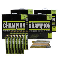 Champion 1st Fix 2.8 x 51mm Electro Galvanised Annular Ring Nails 13200