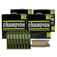 Champion 1st Fix 3.1 x 75mm Electro Galvanised Annular Ring Nails 8800