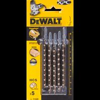 Dewalt DT2213 Jigsaw Blades for Wood Bi-Metal XPC T144D 25 Blades 5 Packets