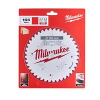 Milwaukee 165mm 40T TCT Circular Saw Blade 20mm Bore