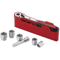 "Teng Tools M3812N1 12 Piece 3/8"" Basic Drive Socket Set"