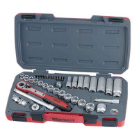 "Teng Tools T3839 39 Piece 3/8"" Drive Metric Socket Set"