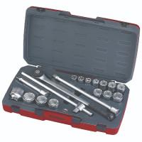 Teng Tool T3418-6 Metric 18 Pieces 3/4in Drive Socket Set