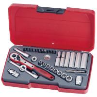 Teng T1435AF Socket Set 1/4in Drive AF 35 Pieces