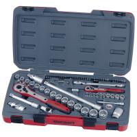 Teng Tool T1272 72 Piece 1/4In & 1/2In Drive Socket Set