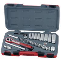 Teng Tools T3835AF 35 Pieces 3/8in Drive Socket Set