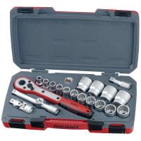 Teng Tools T1220AF 1/2 inch Drive AF 20 Pieces Socket Set