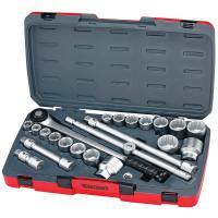 Teng Tools T3422S 3/4in Drive MM 22 Pieces Socket Set