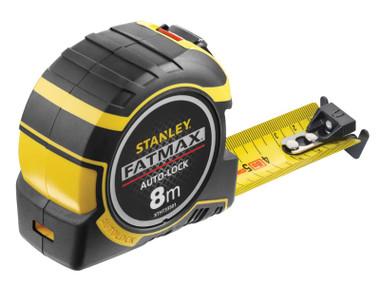 Stanley FatMax® Autolock 8m Pocket Tape (Metric only)   Toolden
