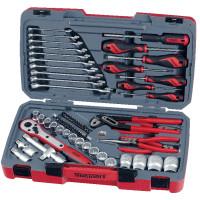 Teng Tools T1268 68 Pieces 1/2 inch Drive Socket Set