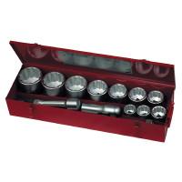 Teng Tools M1115MM 15 Piece 1 inch Drive 12 Point Metric Socket Set