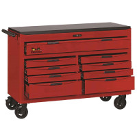 Teng Tools TCW809N 8 Series 9 Drawer 53 inch Wide Roller Cabinet