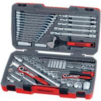 "Teng Tools TM106 106 Piece 1/4"", 3/8"" and 1/2"" Drive Socket Set"