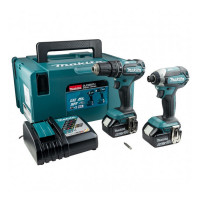 Makita DLX2283TJ 18v Twin Pack Combi & Impact Driver with 2x5ah Batteries