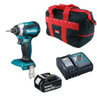 MAKITA DTD153RFX1 18v Brushless Impact Driver 1x3ah Battery, Charger & Bag