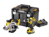DeWalt DCK205M2T 18v XR 2 Piece Kit,2 x 4.0Ah Li-ion Batteries & Multi Charger From Toolden.