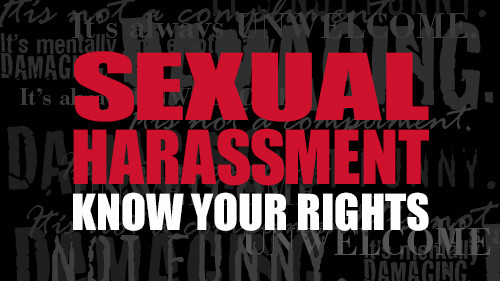 Sexual Harassment: Know Your Rights