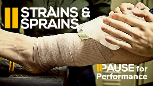 Pause for Performance: Strains & Sprains