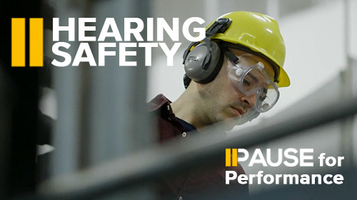 Pause for Performance: Hearing Safety