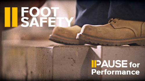 Pause for Performance: Foot Safety