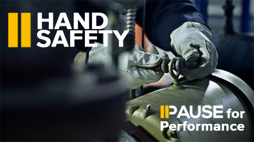 Pause for Performance: Hand Safety