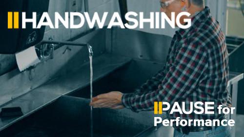 Pause for Performance: Handwashing