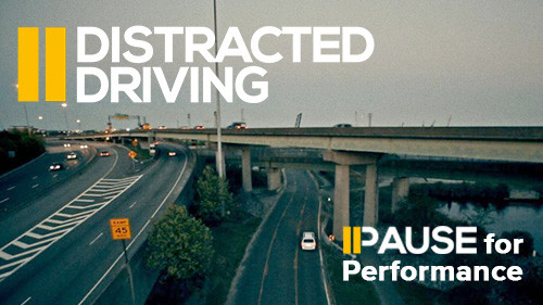 Pause for Performance: Distracted Driving