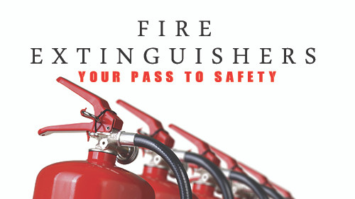 Fire Extinquishers: Your Pass To Safety