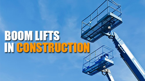 Boomlifts In Construction