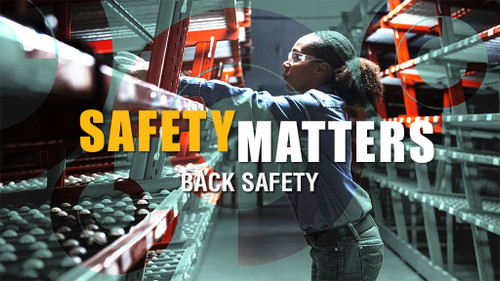Safety Matters: Back Safety