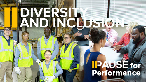 Pause for Performance: Diversity and Inclusion