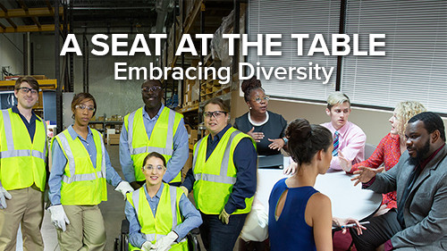 A Seat at the Table: Embracing Diversity