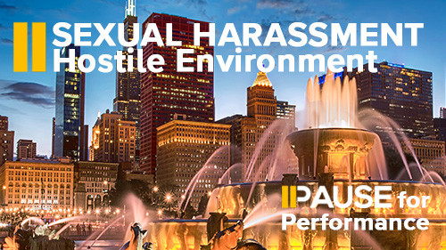 Pause for Performance: Hostile Environment Harassment
