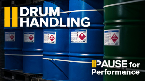 Pause for Performance: Drum Handling