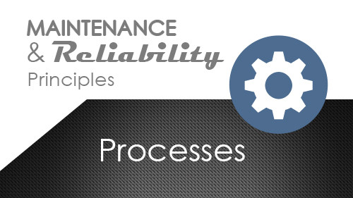 Maintenance and Reliability Principles: Processes